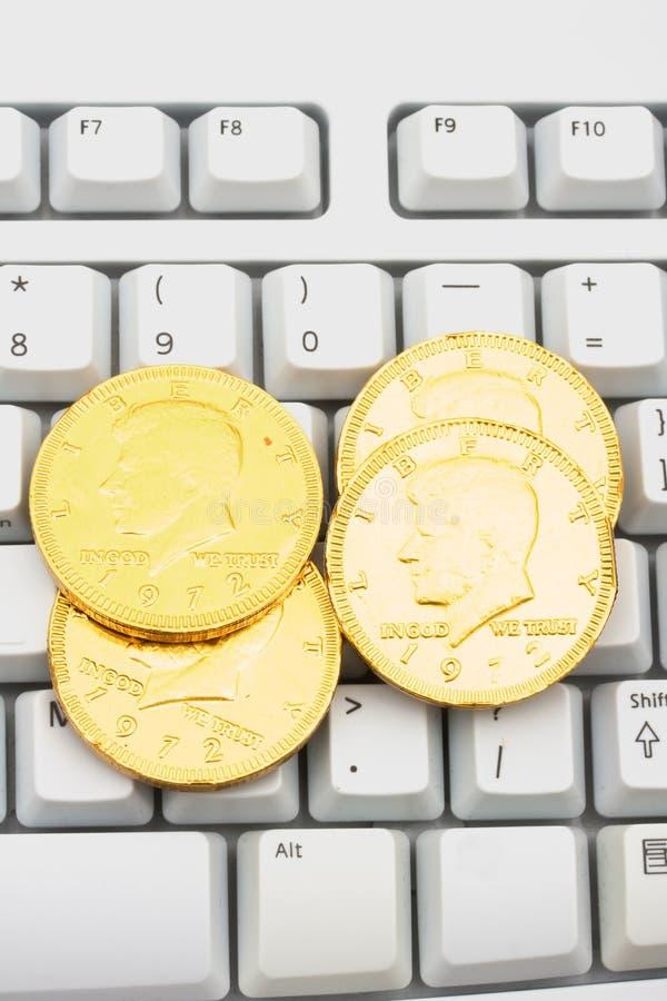 Download Making Money Online stock image. Image of cash, computer - 7658499