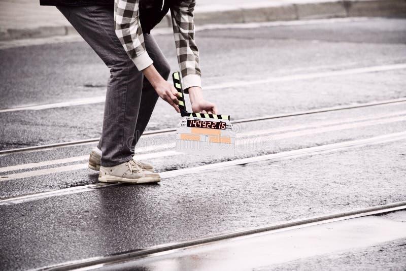 Download Making movie stock photo. Image of movie, asphalt, plan - 15924562