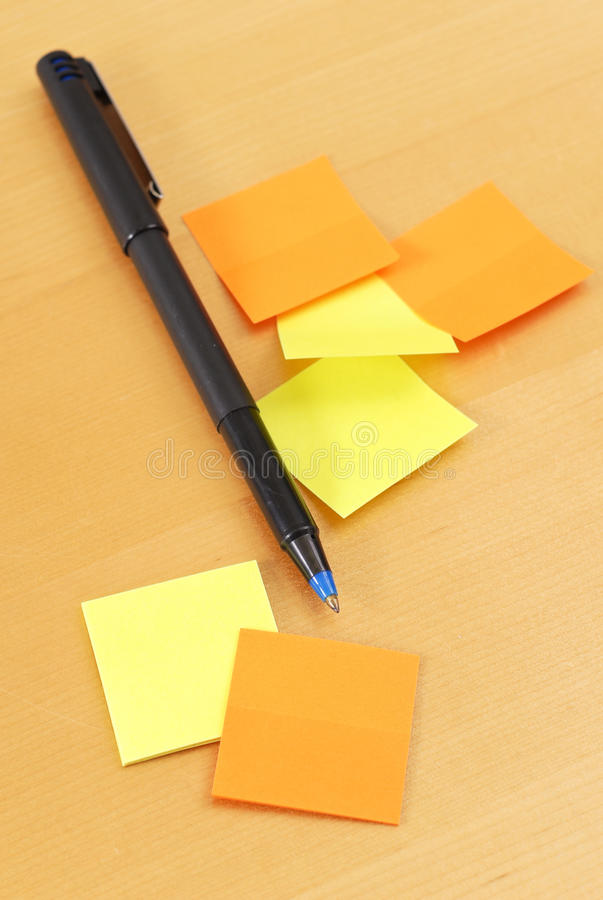 Download Making Notes stock image. Image of notes, bills, agenda - 20553395