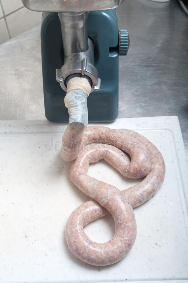 Download Making Sausage Stock Photography - Image: 35991722