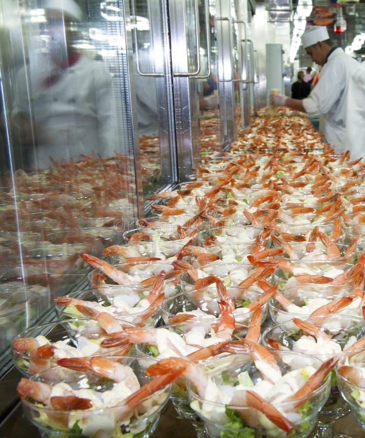 Download Making Shrimp Cocktail editorial stock image. Image of shellfish - 26403314
