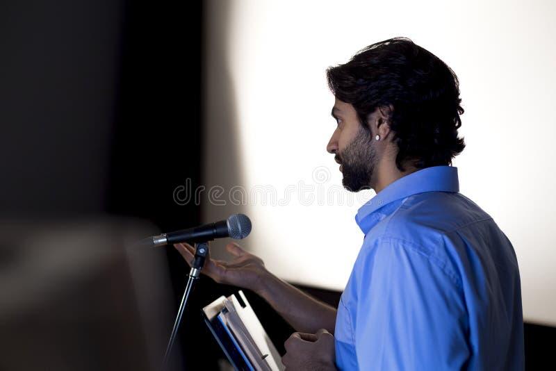 Making a Speech stock photos