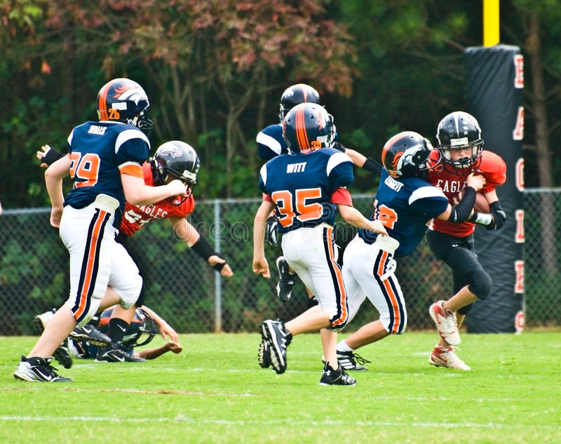 Making the Tackle/Little League