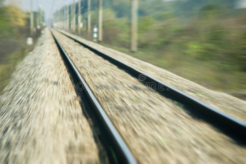 Making Tracks Stock Images