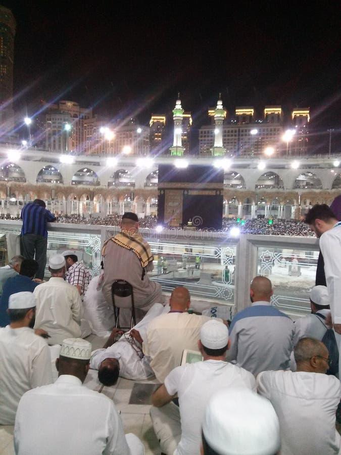 Makkah Al Mukarama grobowiec obraz stock