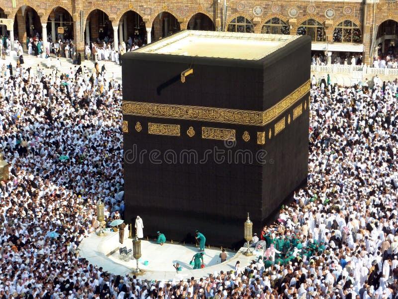 Makkah Kaaba hadża muzułmanie obraz royalty free