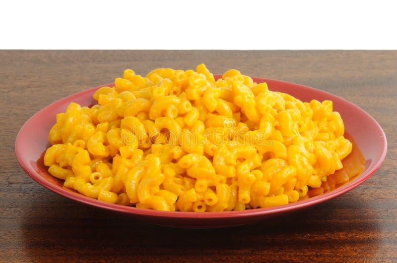 Makkaroni und Käse lizenzfreie stockfotos