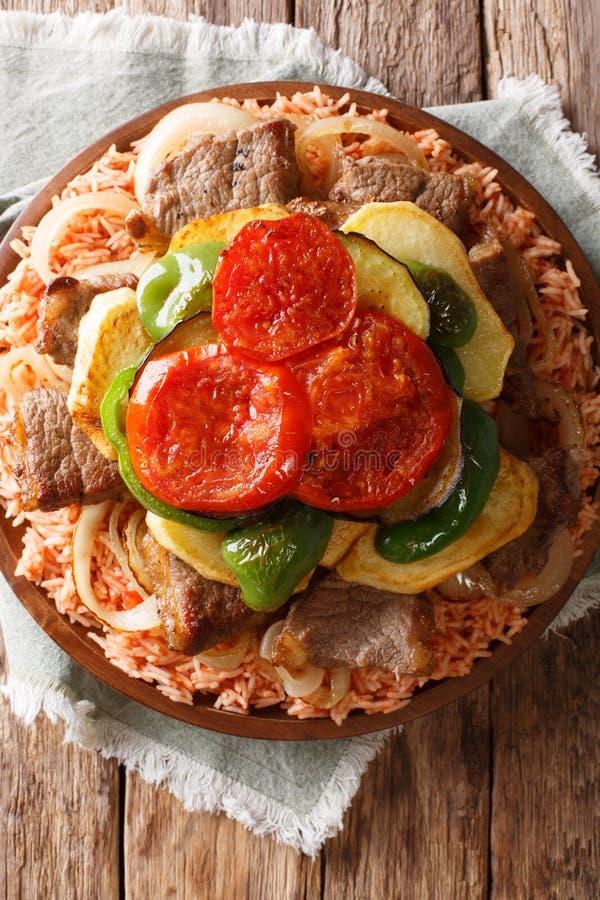 Aubergine Frite, Nourriture Libanaise. Image stock - Image ...