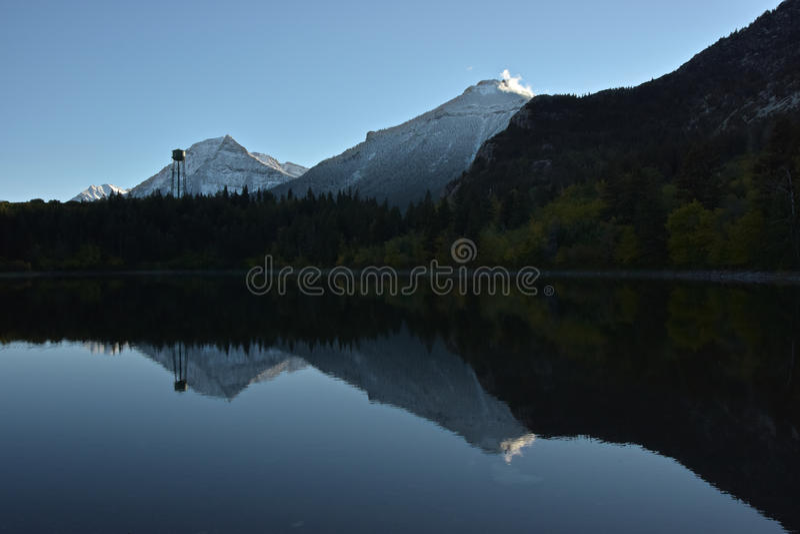 Makolągwa jezioro obraz royalty free