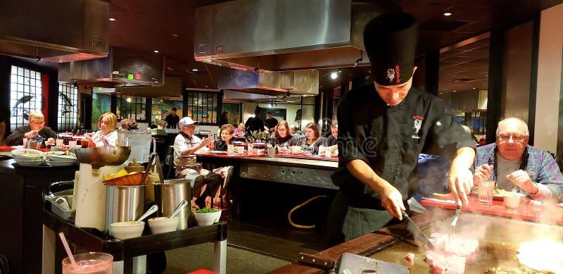 Makoto Japanese Steakhouse photo stock