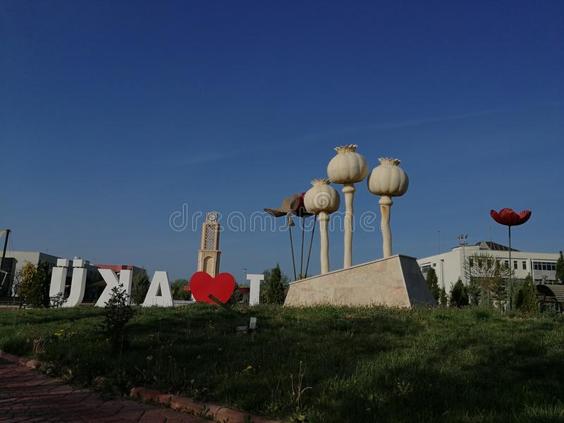 Makowa statua obrazy royalty free
