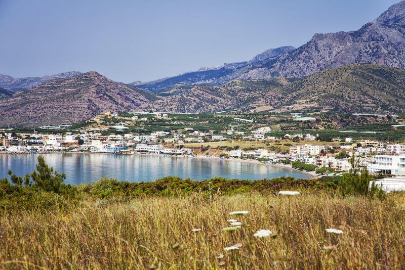 Makrigialos Крит стоковая фотография rf