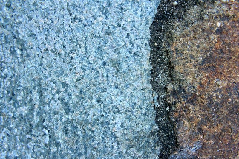 Makro- Błękitnej skały tło 7 zdjęcie stock