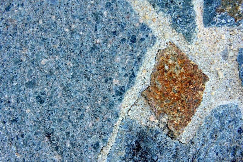 Makro- Błękitnej skały tło 6 obrazy stock