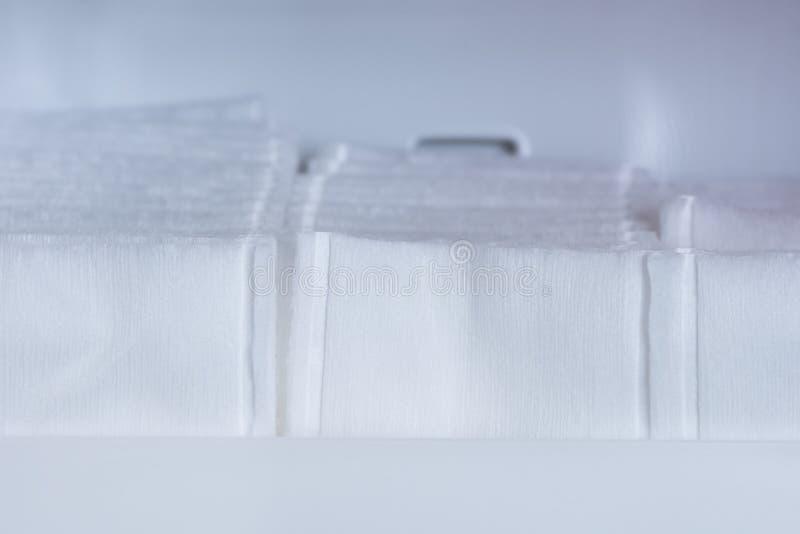 Makro- Bawełniani mopy zdjęcia stock