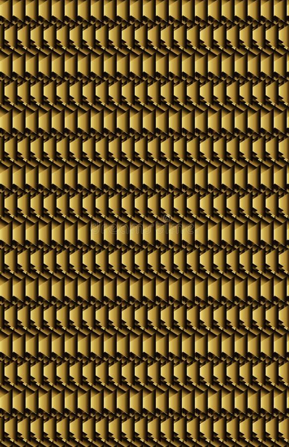 Makro einer dunklen Gold- oder metallischen Bronzeoberfläche lizenzfreie stockbilder