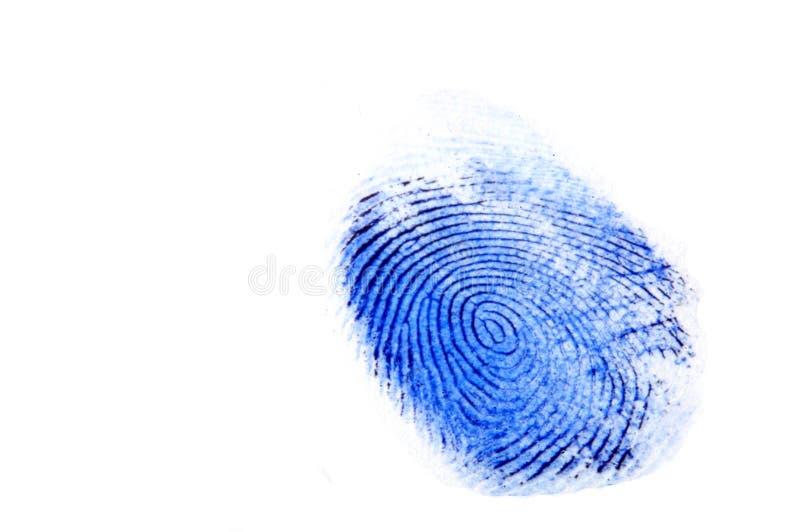 Fingerabdruck stock abbildung