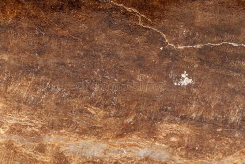 Makro- kamienny kopalina marmuru onyks na białym tle zdjęcia stock