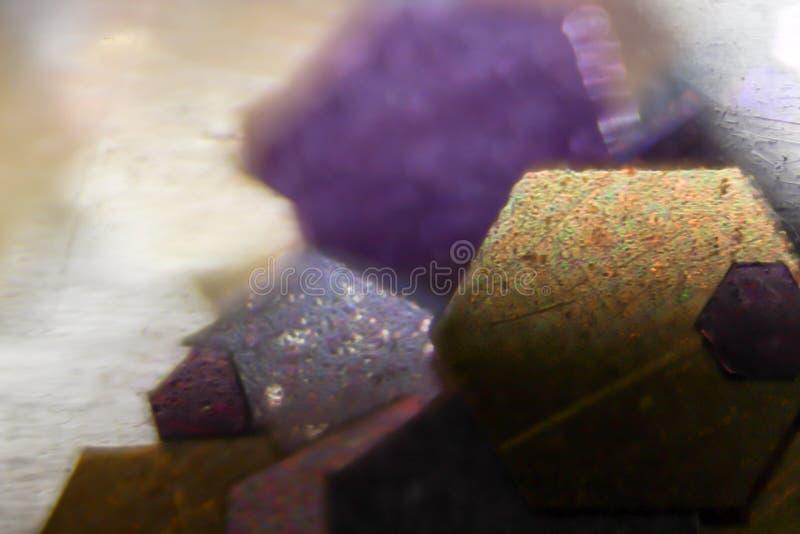 Makro- kolor sztuki tapetowej błyskotliwości mała tekstura obrazy stock