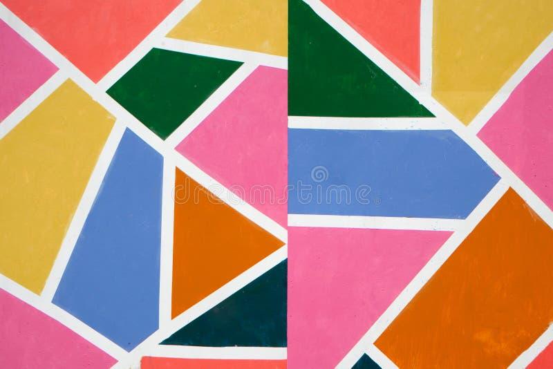 Makro nah oben von der unterschiedlichen Farbölfarbe buntes Acryl Konzept der modernen Kunst vektor abbildung