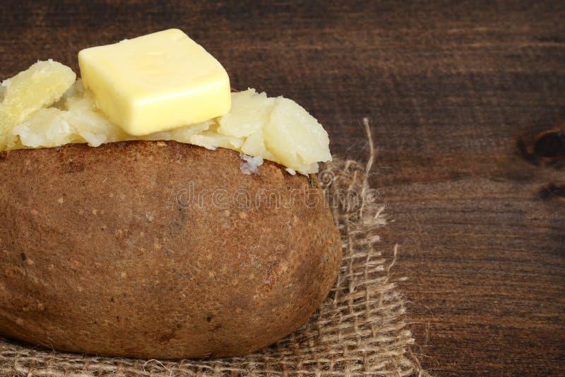 Makro- piec grula z masłem obrazy stock