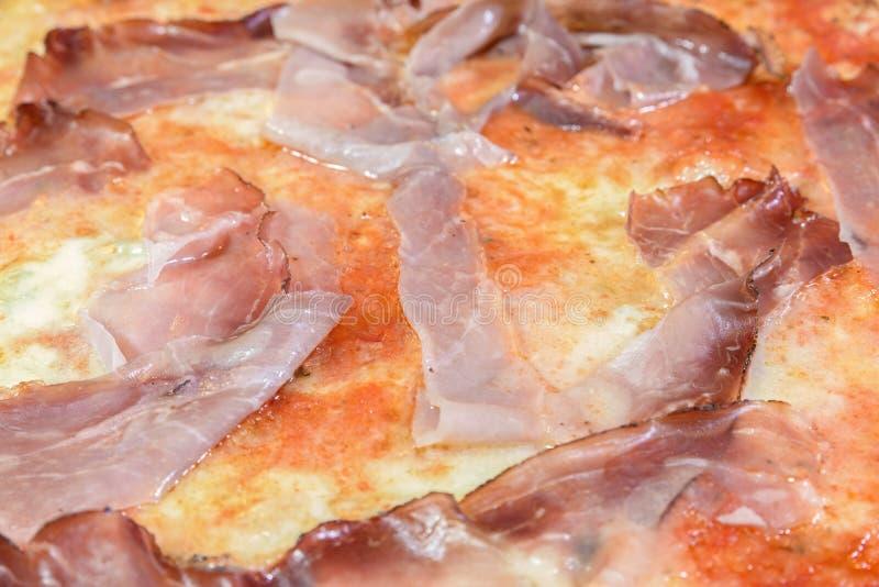 Makro- pizza obraz royalty free