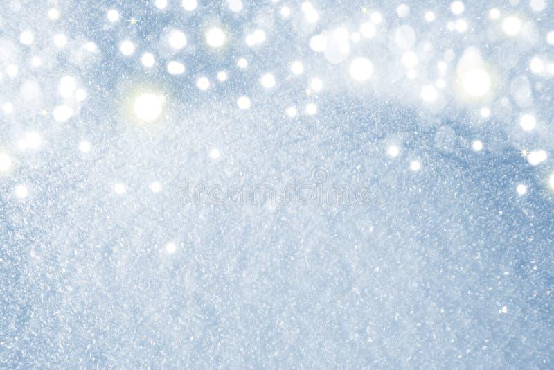 Makro- strzał od śniegu zdjęcie royalty free