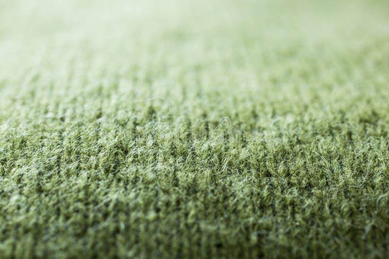 Makro- szczegół strzelający knitwear fotografia stock