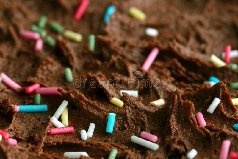 makro tort urodzinowy. zdjęcie royalty free