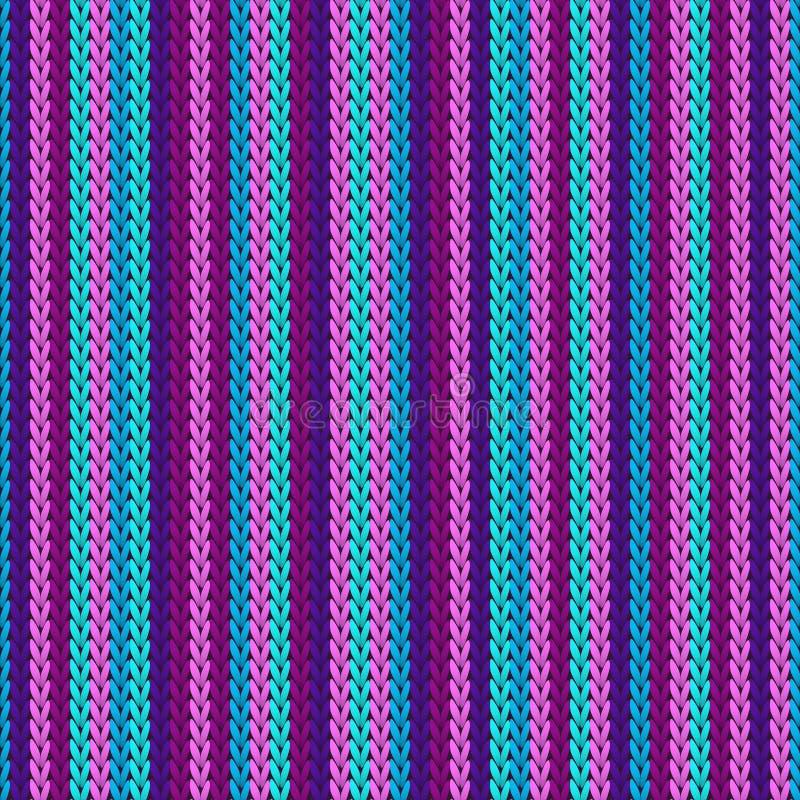 Makro vertikale Streifen Christmas Strickgeometrie lizenzfreies stockfoto