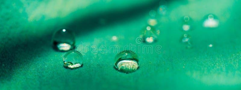 Makro- wody kropla obrazy stock