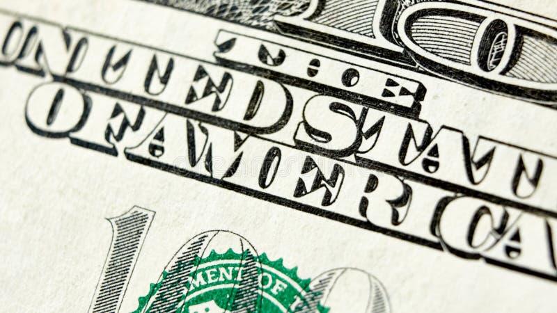Download Makro- Zakończenie Up USA 100 Dolarowy Rachunek Obraz Stock - Obraz złożonej z twarz, zaciemnia: 57673061