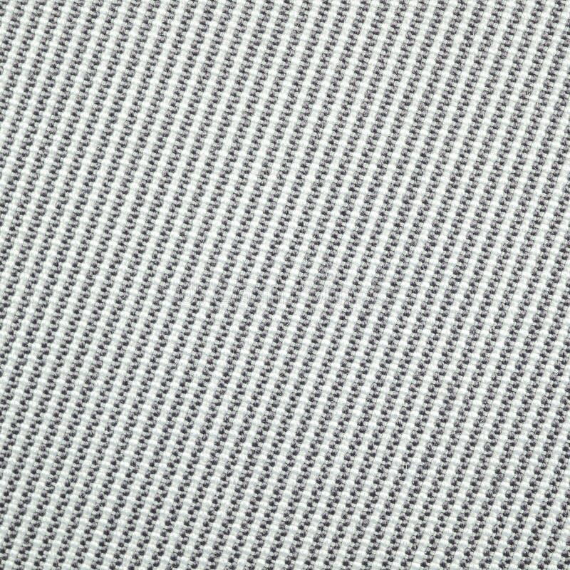 Makrobild av tygtextursvart stock illustrationer