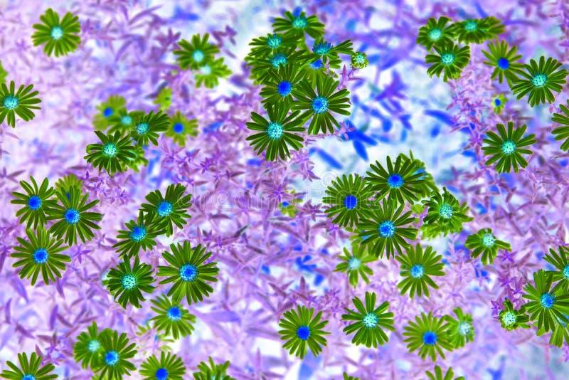 Makrofotografi av blommor royaltyfria foton