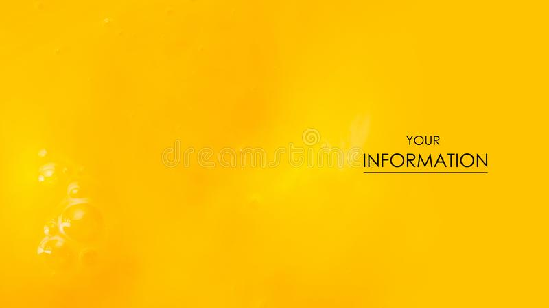 Makrolebensmittelmuster des gelb-orangeen Eigelbs lizenzfreie stockbilder