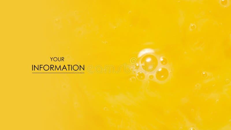 Makrolebensmittelmuster des gelb-orangeen Eigelbs lizenzfreies stockfoto