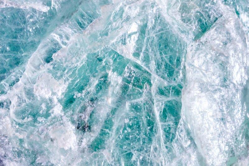 Makroschießen des natürlichen Edelsteins Das rohe Mineral ist Talkum lizenzfreies stockbild