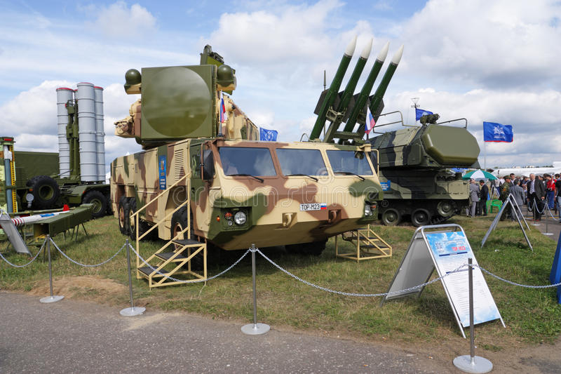 Download MAKS 2009. Anti-aircraft Defence TOR Editorial Stock Photo - Image: 10593178