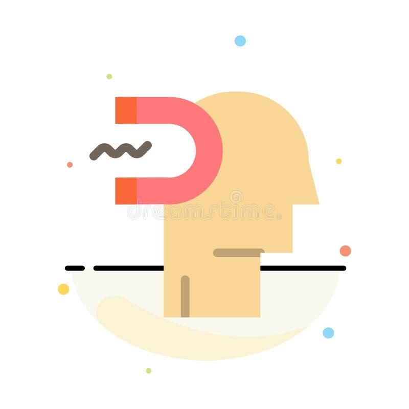 Makt påverkan, koppling, människa, påverkan, mall för symbol för färg för ledningsabstrakt begrepp plan vektor illustrationer