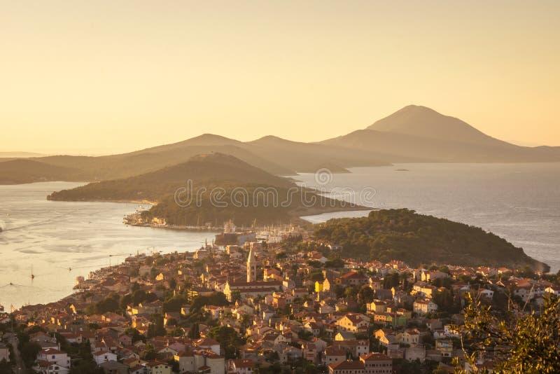 Malí Losinj, Croatia fotografía de archivo