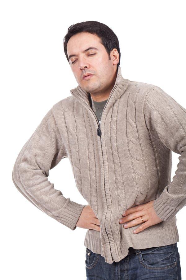 Mal d'estomac images stock