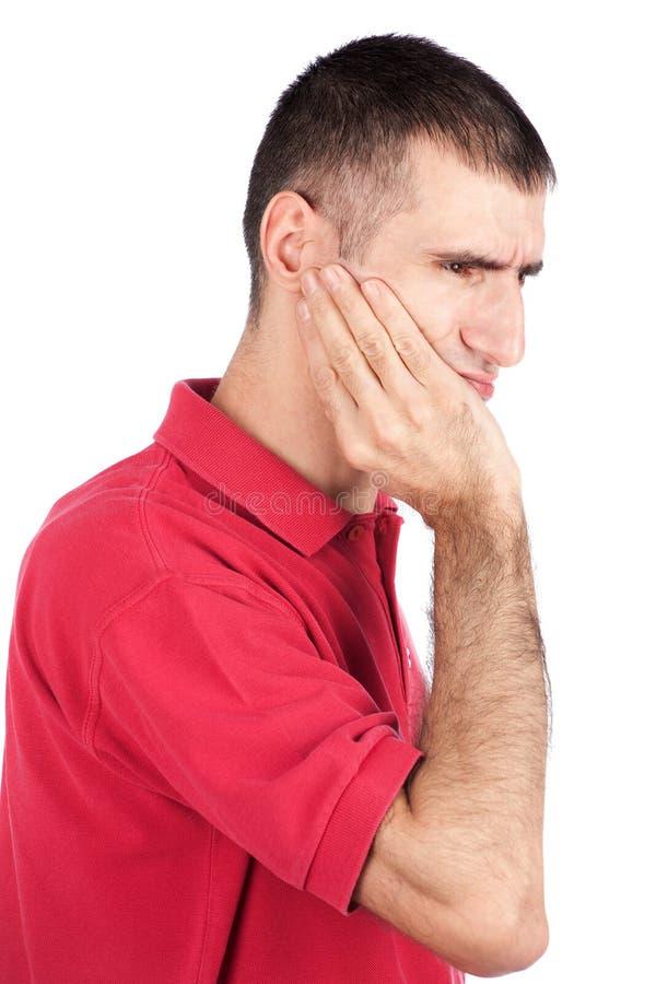 Mal de dents photo stock