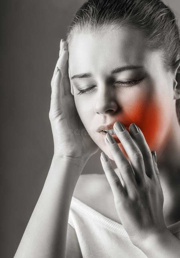 Mal de dents photos libres de droits
