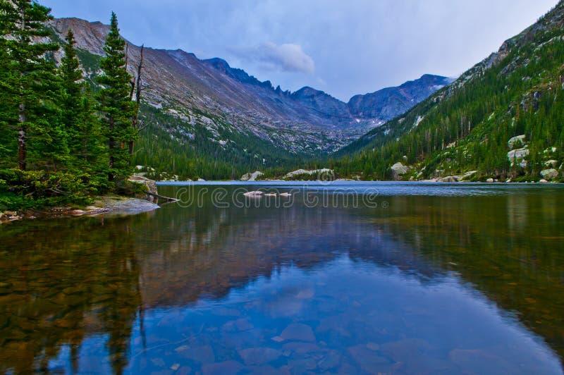 Mal laken Colorado royaltyfri fotografi