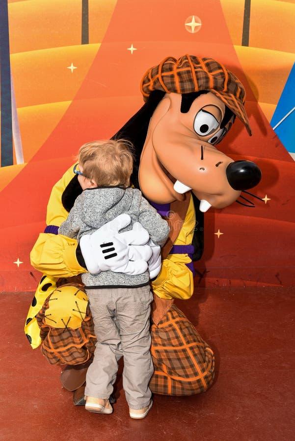 Mal in Walt Disney Studios Park royalty-vrije stock foto
