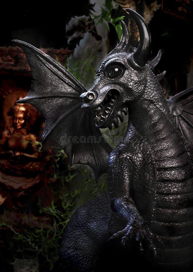 Mal y dioses imagen de archivo libre de regalías
