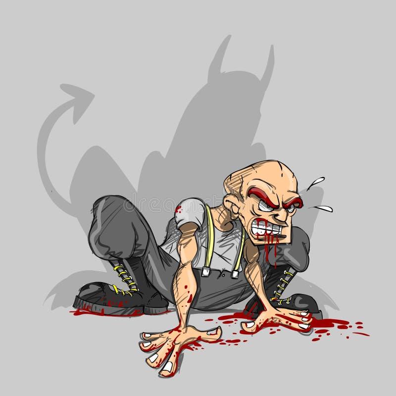 Mal y violencia libre illustration