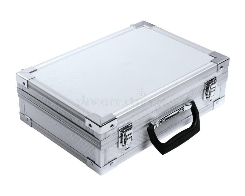 Mala de viagem de alumínio fotografia de stock