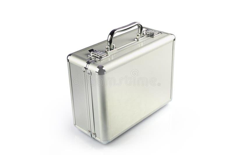 Mala de viagem de alumínio foto de stock royalty free