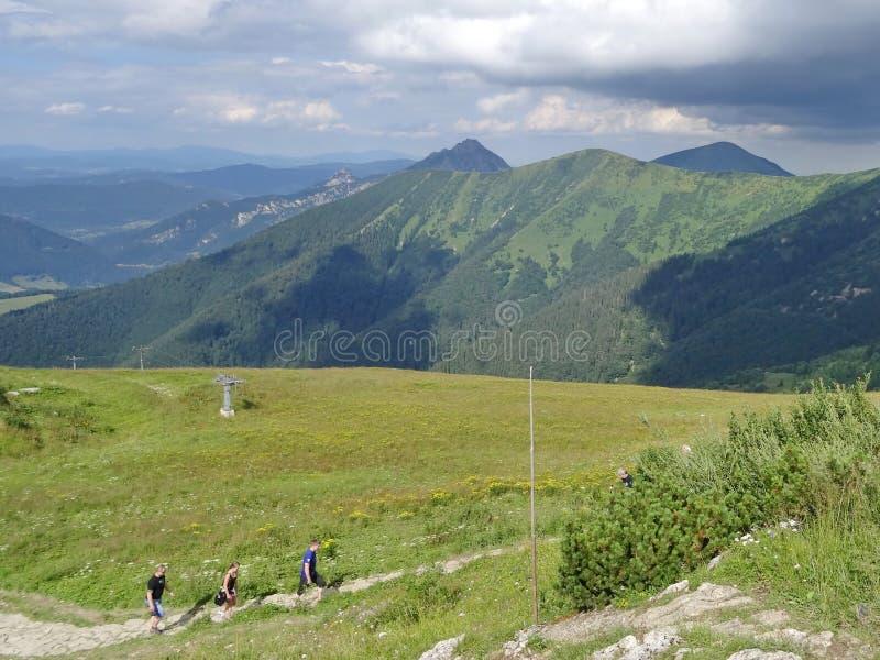Mala Fatra-berg, Slowakije, Europa royalty-vrije stock afbeeldingen